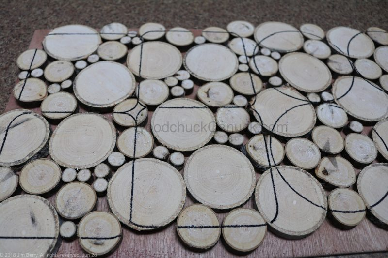 wood slice coasters,crafts