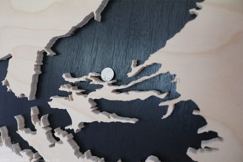 scroll saw,wooden maps, Nova Scotia,Antigonis,County,Guysborough, Pictou, Richmond,Halifax,District of St. Mary's