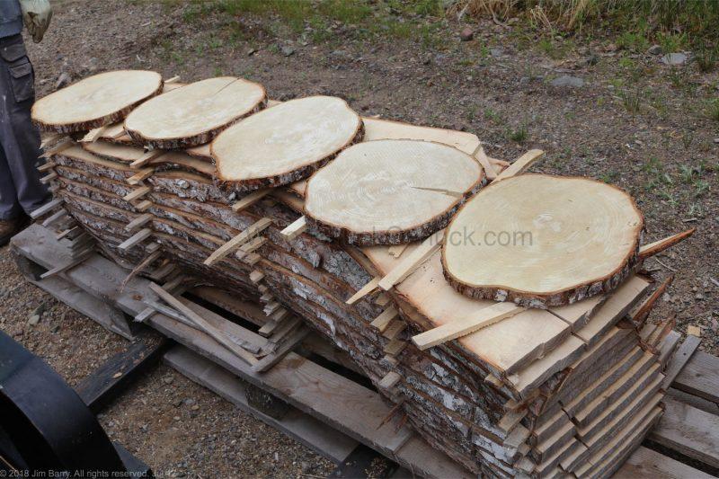 air dried lumber, cookies, sugar maple, Nova Scotia