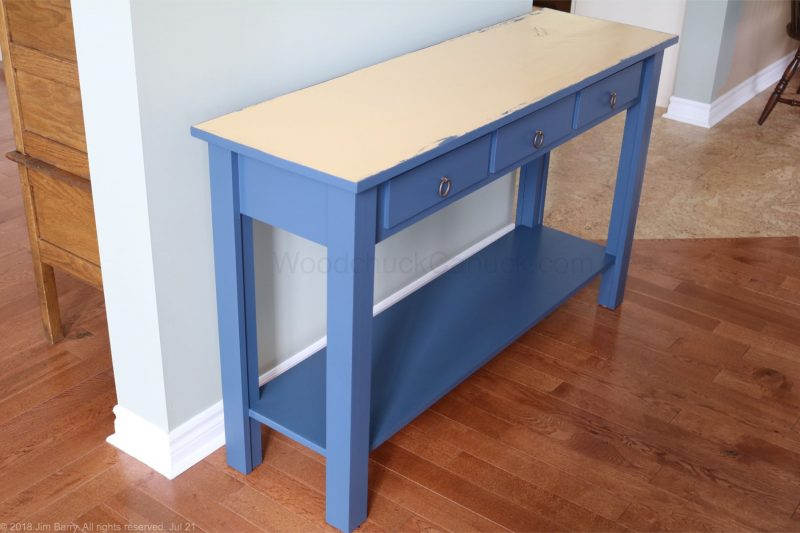 Hall table,makeover,paint
