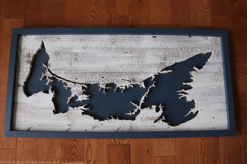 PEI wood map