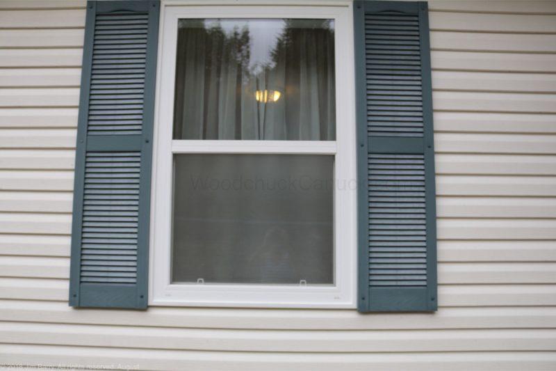 DIY Spray frost on window