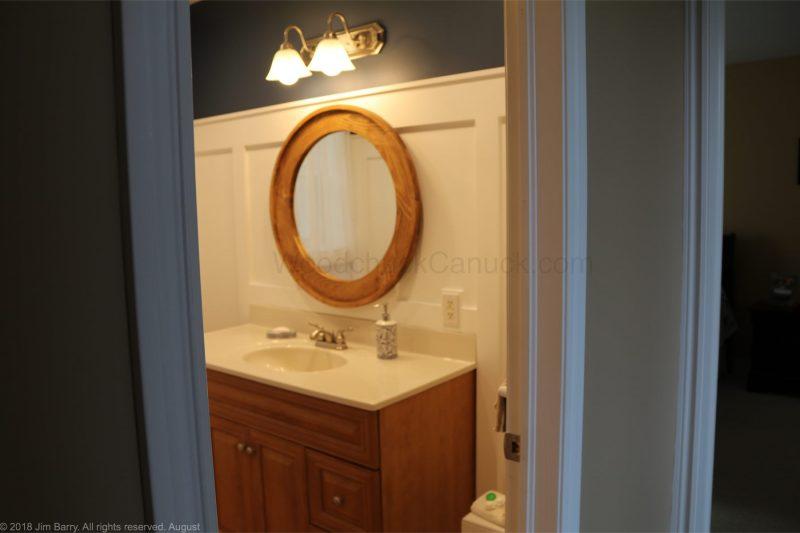 diy round mirror frame