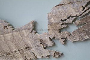 Wood map Nova Scotia #63,hand made,hand crafted,Antigonish county