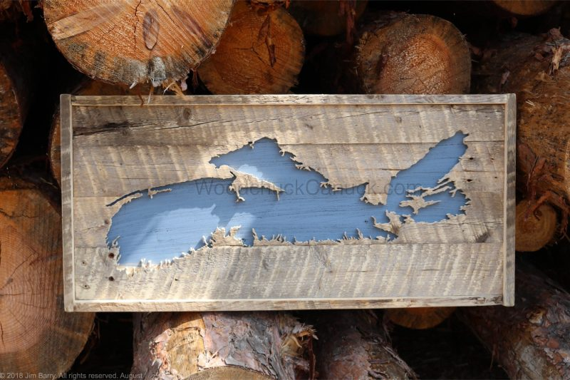 Barn wood map of Nova Scotia #64,hand made,woodworking,Antigonish county