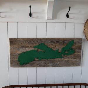 barn wood,hand crafted,wood maps,crafts,Nova Scotia