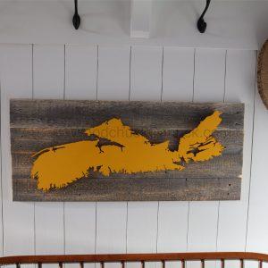 barn wood,hand crafted,wood maps,crafts,Nova Scotia