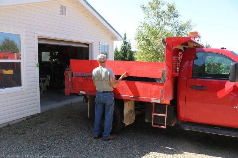 DIY dump truck panels