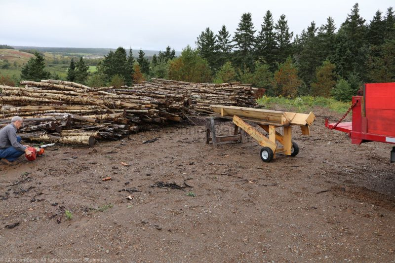 firewood,firewood processor