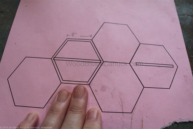 Hexagon shelves,diy,honeycomb shelves