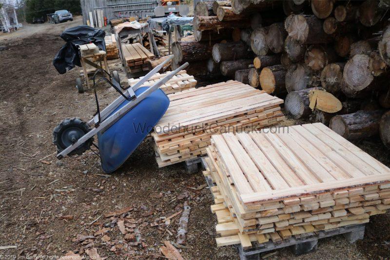 pallets, firewood, saw milling, sawmilling
