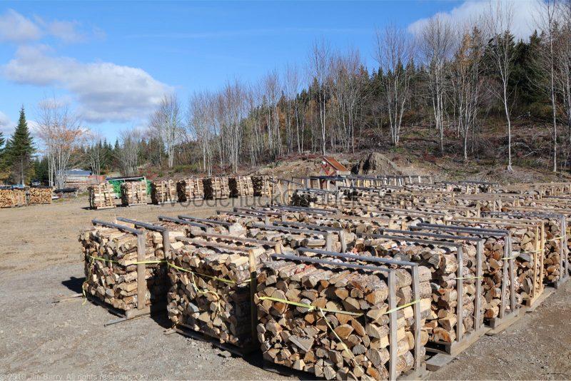 Seasoned firewood.