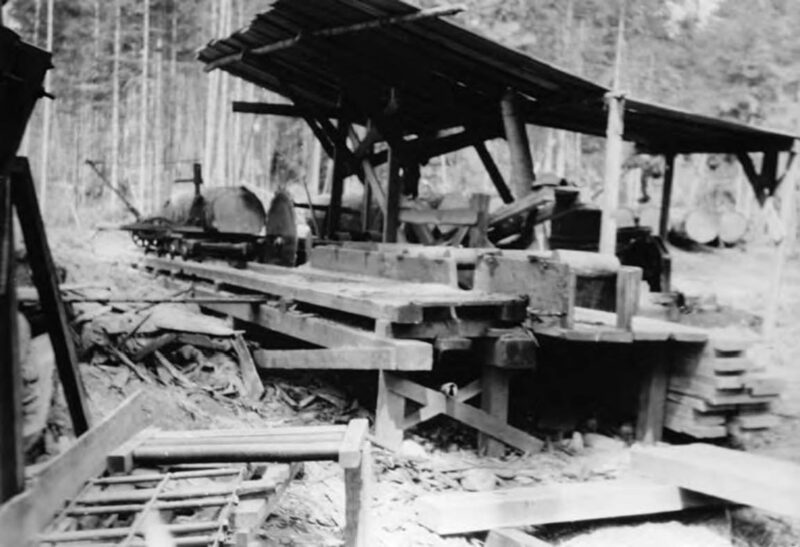 1898-1901 Lake Whatcom Logging Company.