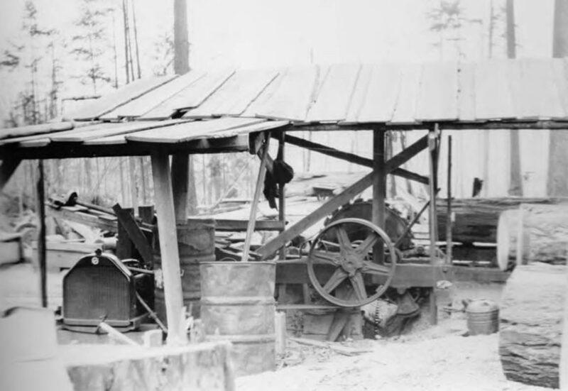 1898-1901 Lake Whatcom Logging Company..