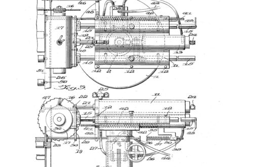 02-18-1937 patent 2172274 1937-02-18 Richard H. Crouch, My invention relates to an improvement in straight line cut-off saws Pg 2 of 5