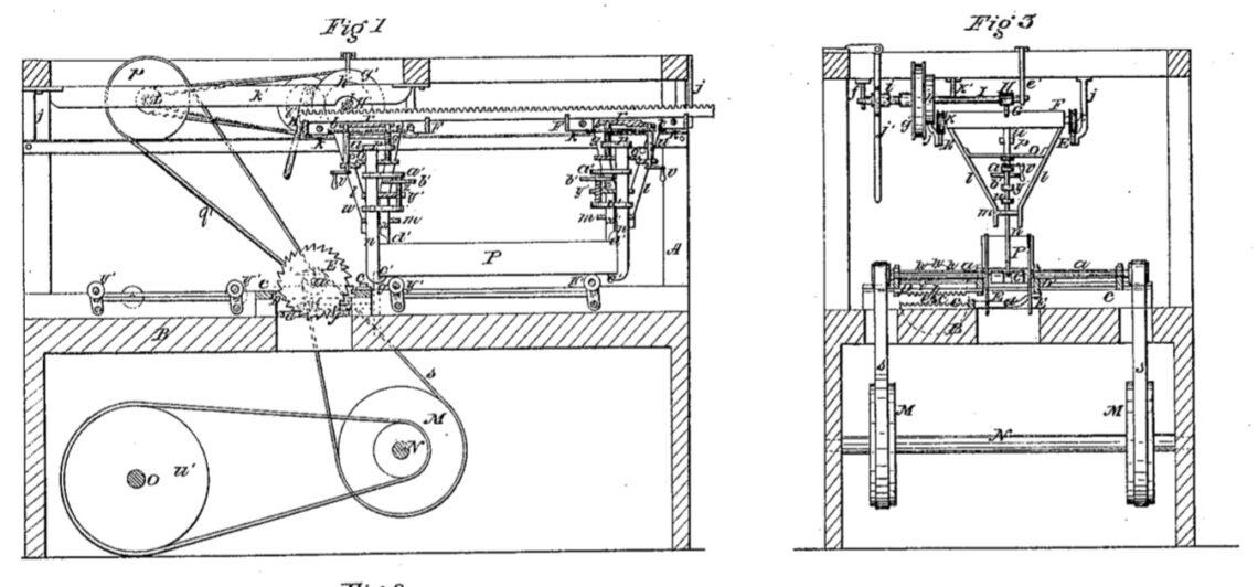 03-03-1857 patent US16725A circular sawing machine