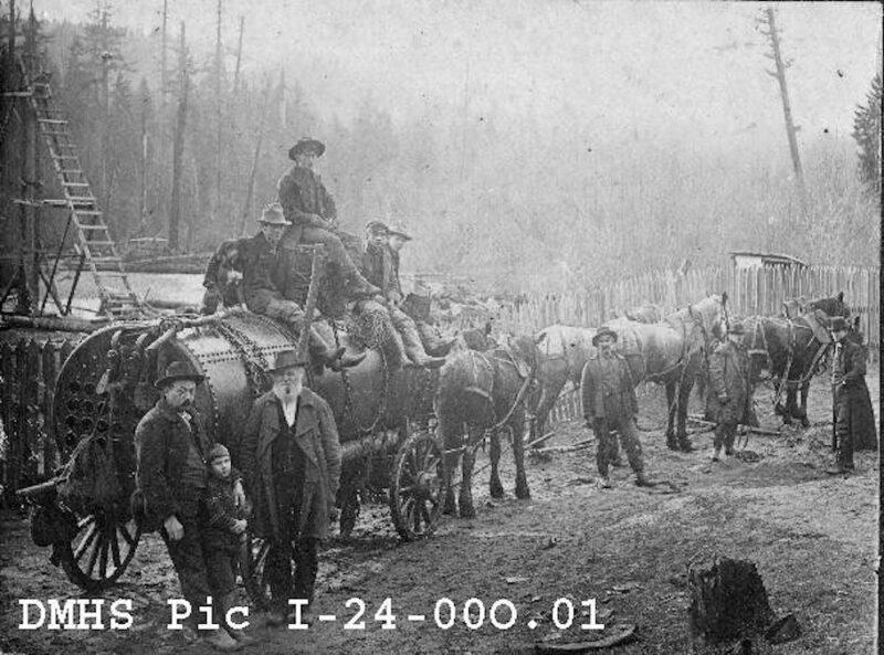 1872-86 Boiler wagon.
