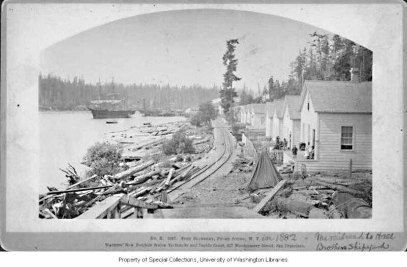 1882 Hall Brothers Shipyard, Port Blakely.