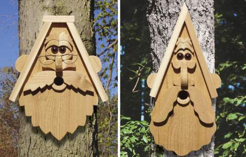 Grandpas Birdhouses Woodworking Plan