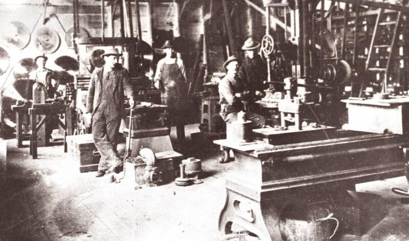 1900 Sierra Flume and Lumber Co.