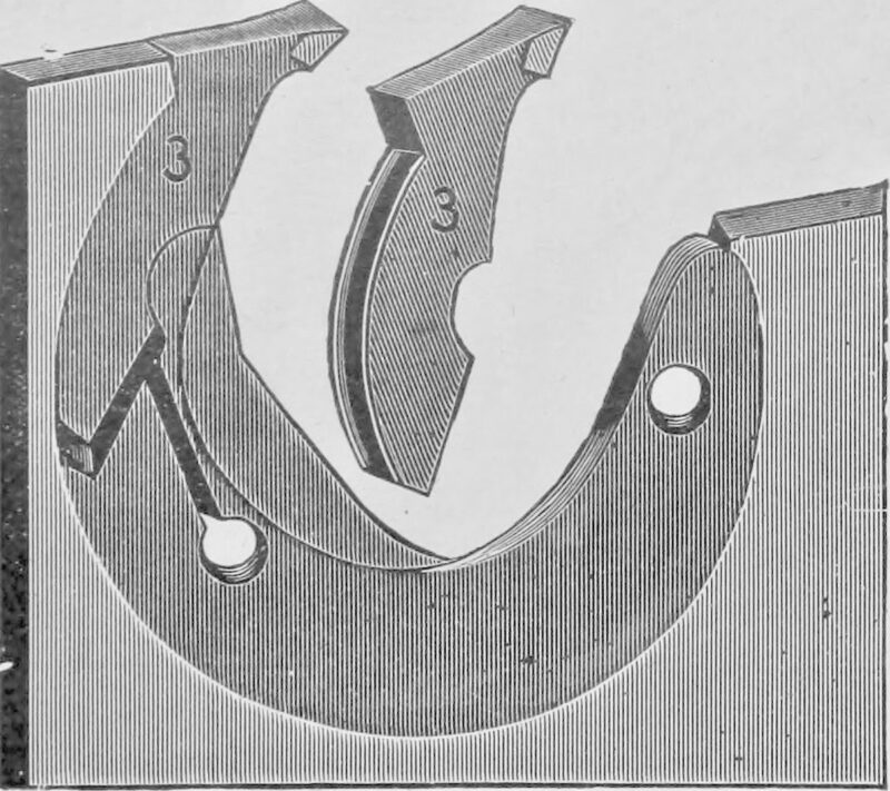 1908 Sawtooth replacement teeth.