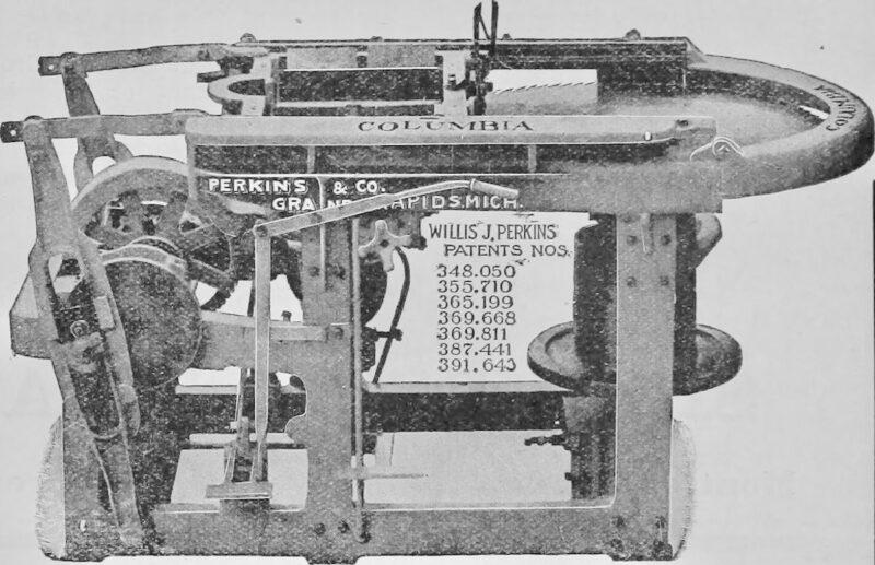 1908 saw blade filer.