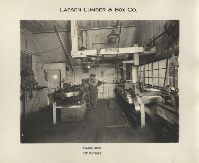1923 Saw filing Room.