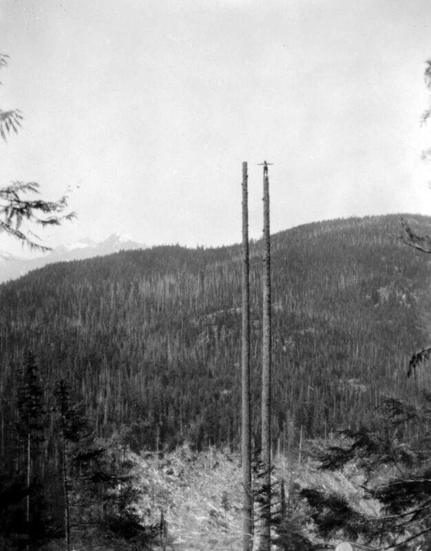 1928 B And K Co. Pitt Lake, BC.