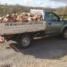 Firewood delivery trucks (UK)