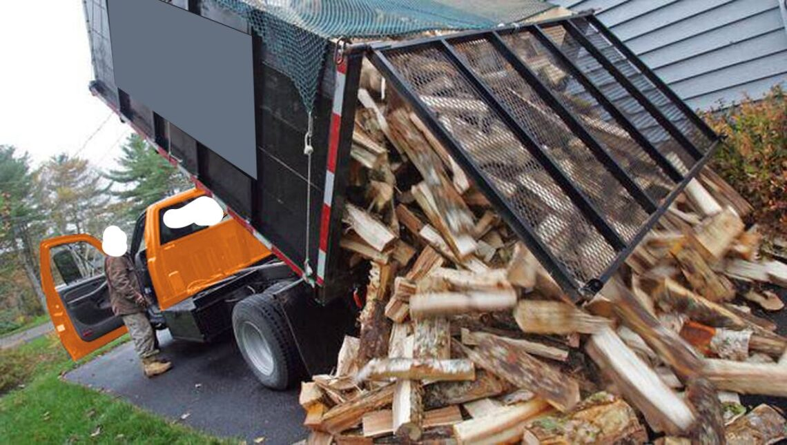 Firewood delivery trucks from around the world.