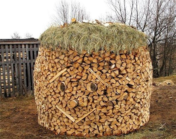 Fun with firewood.