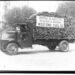Vintage firewood delivery trucks.