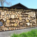Fun with the firewood piles.