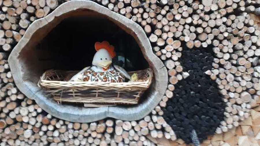 Creative fun firewood stacking ideas.