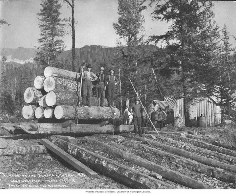 1905 Alaska Central Railroad.