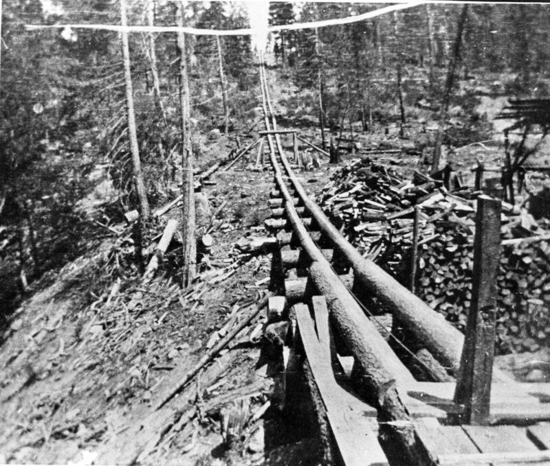 1905 Log Chute