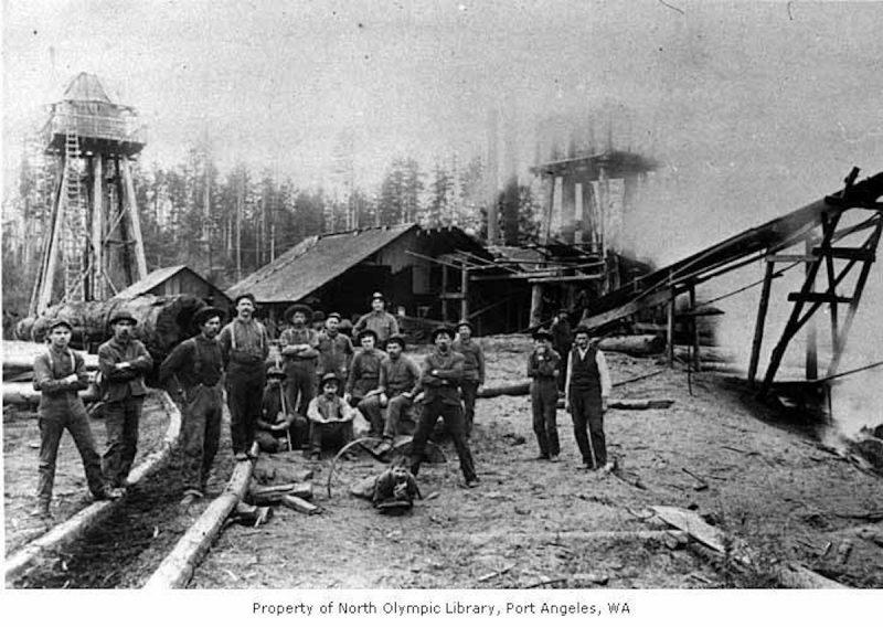 1910 Goodwin Shingle Mill.