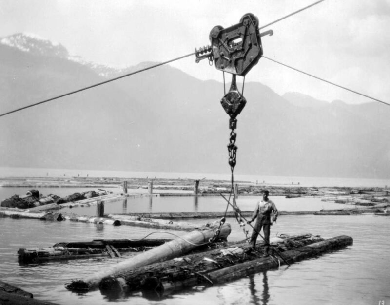 1928 B And K Co. Pitt Lake