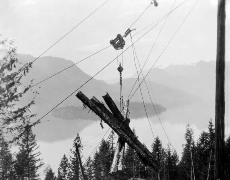 1928 B And K Co. Pitt Lake, BC