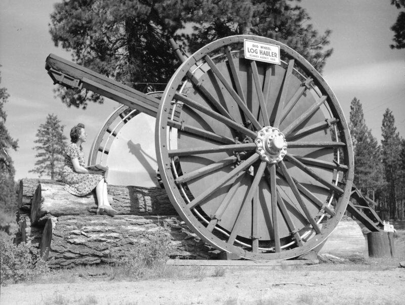 1946 Big Wheel Log Hauler