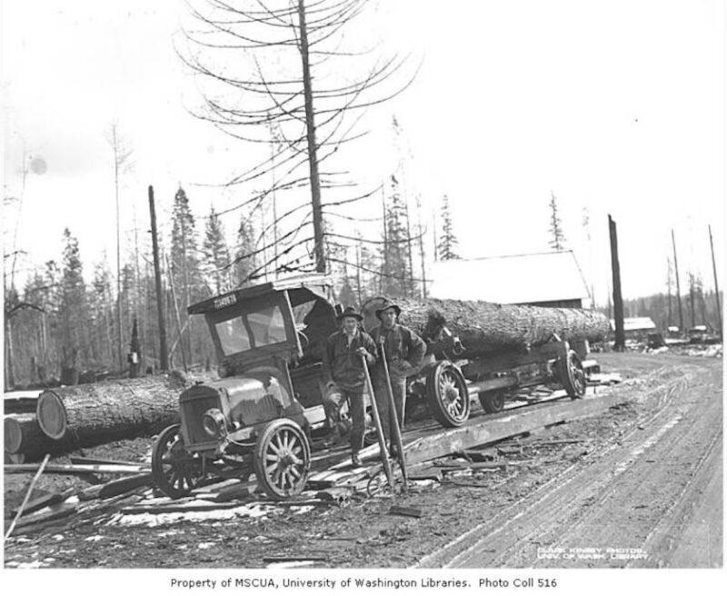 1921 Coal Creek Lumber Company.