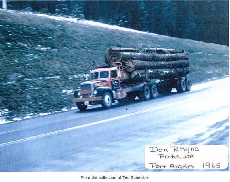 1965 Don Rhync, Forks, WA
