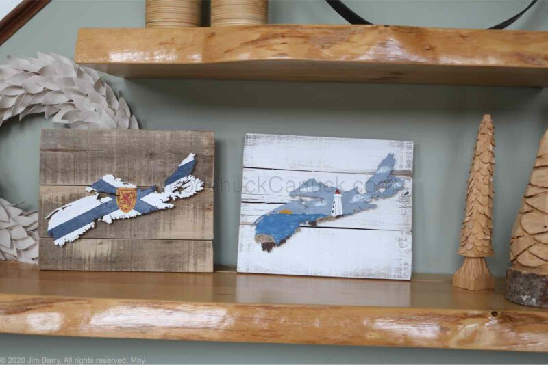 crafts,wood map,map of ns,rustic map,wall decor,scroll saw,handmade
