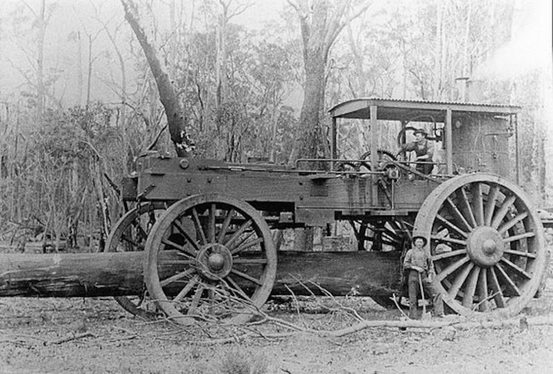 Australian WHIM for hauling logs