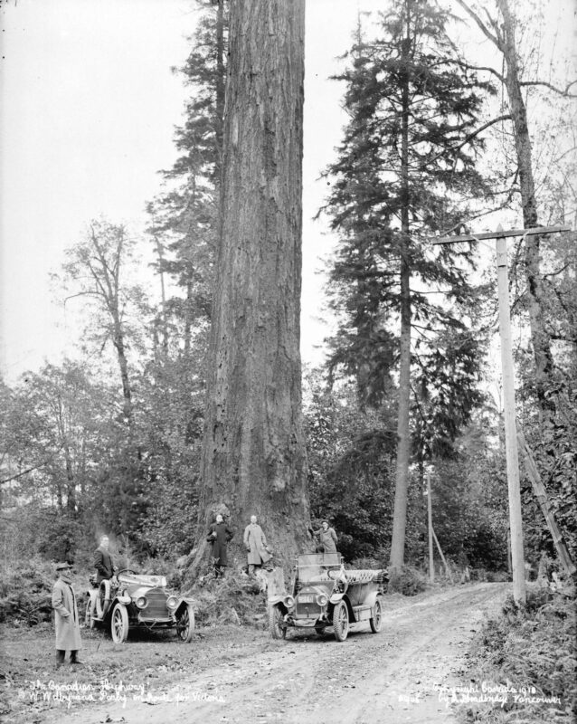1912 Canadian Highway near Vancouver, BC.