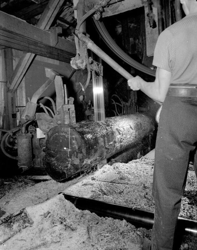 1944 Sawmill at Pacific Mills