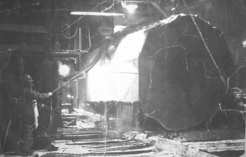 1975 at Weyerhauser Mill B in Everett WA.