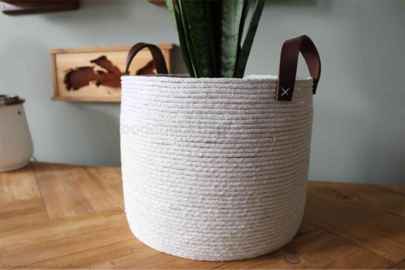rope basket,diy,basket,crafts,