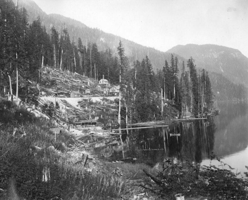 1910 Coquitlam Dam, BC