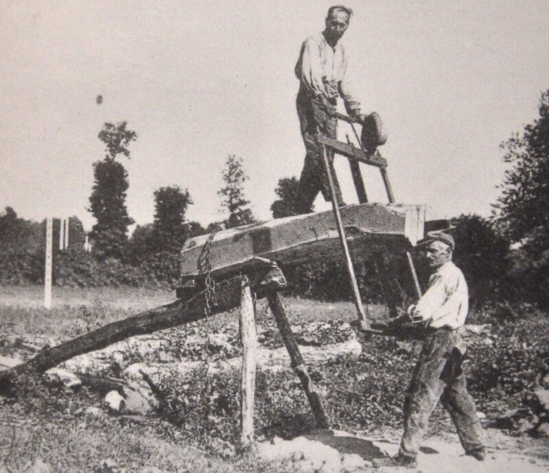 Pioneering Sawpit setup